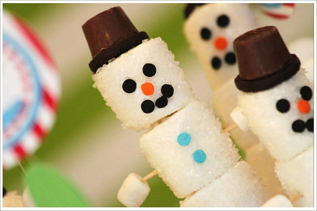 christmas snowmen template