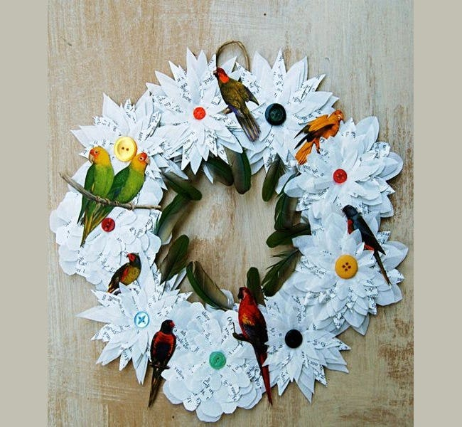 christmas wreath to decor craft