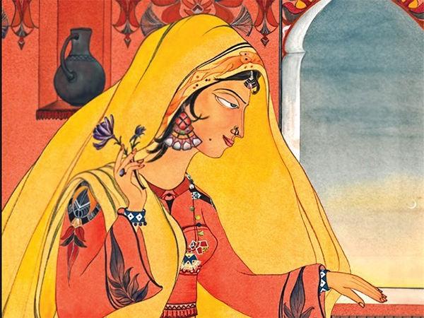 chughtai aesthetic painting