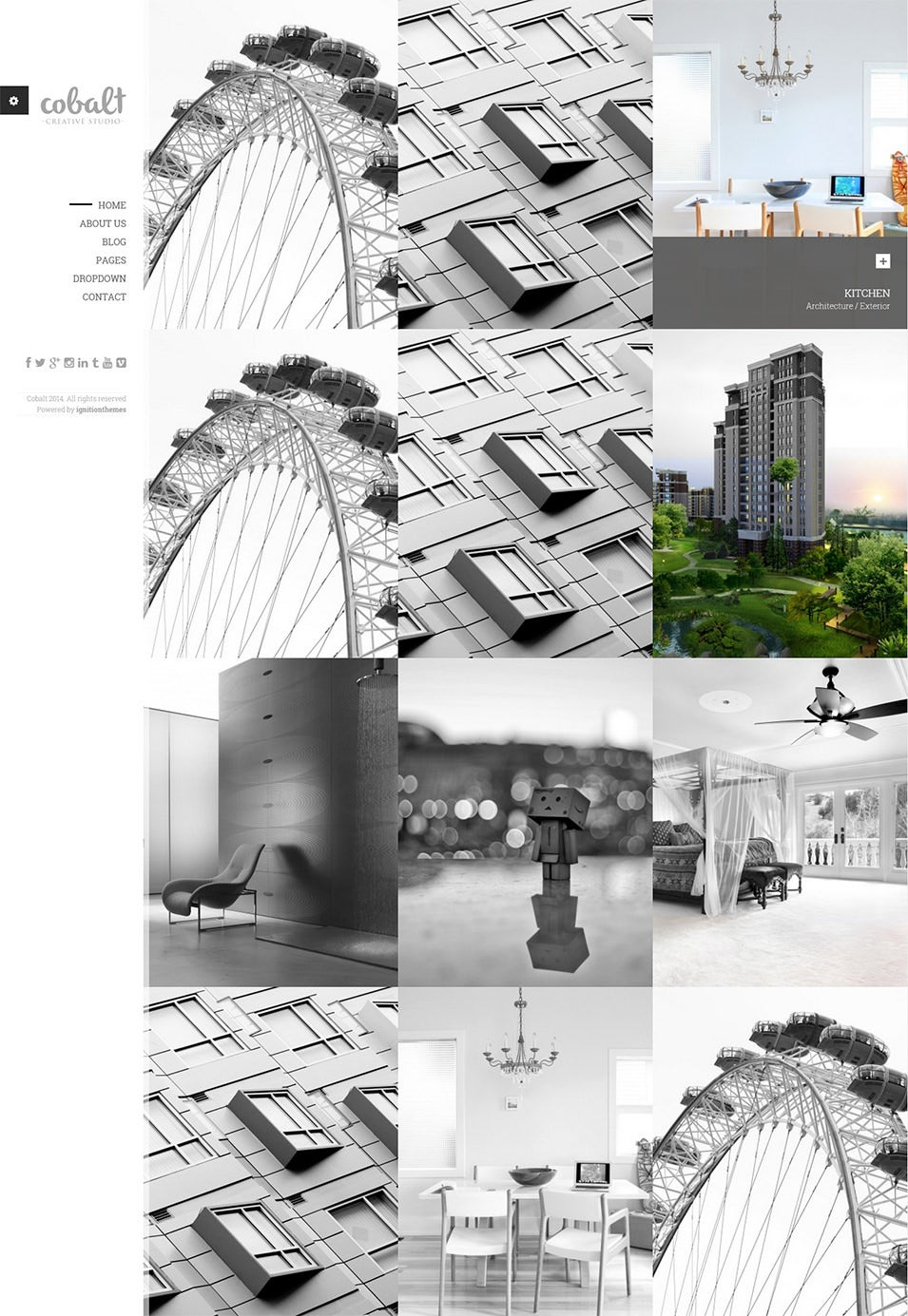 Responsive Architect & Creatives WP Theme