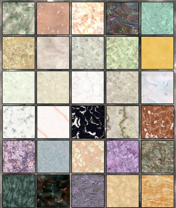 colorful marble textures
