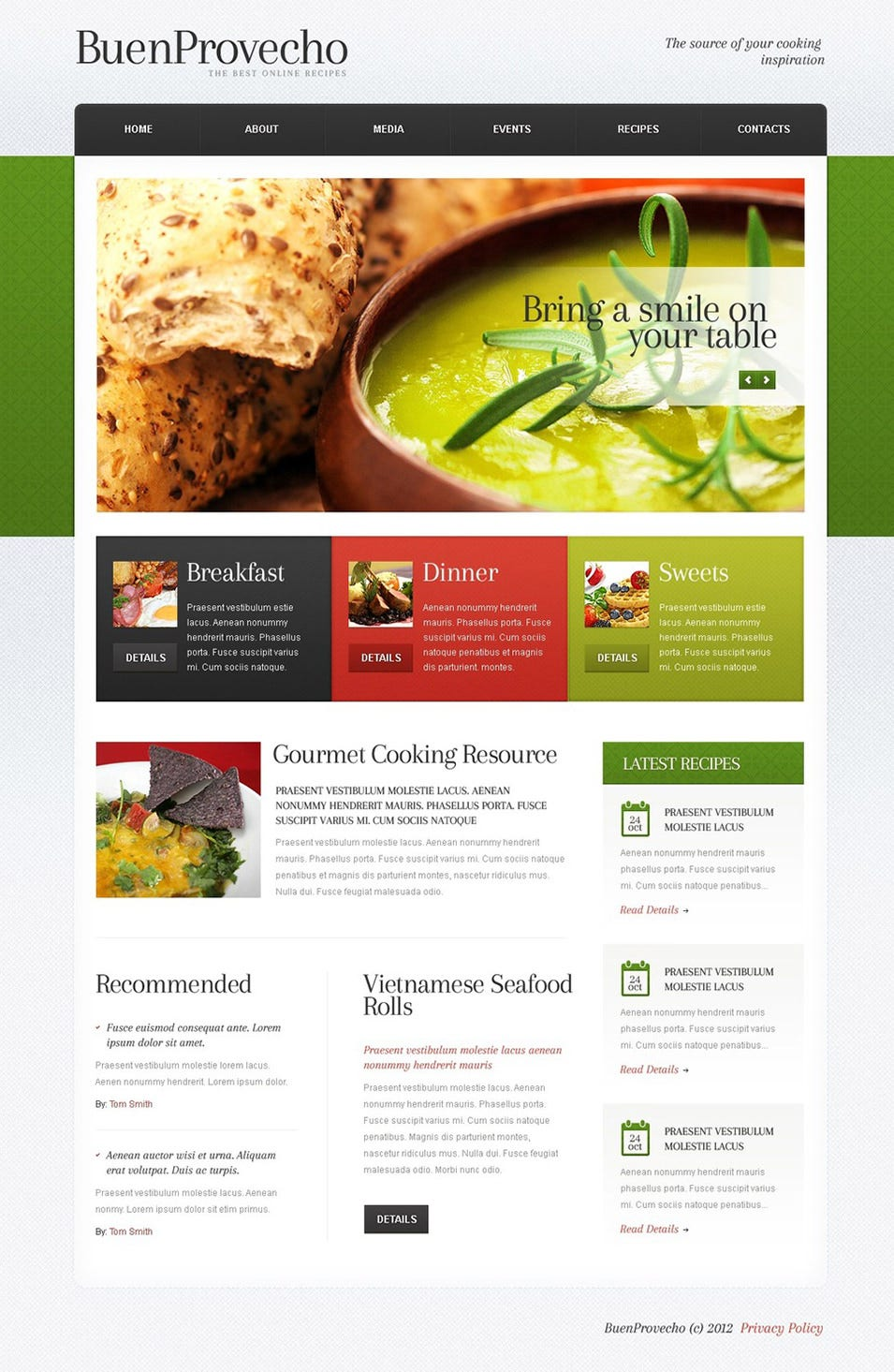 cooking wordpress theme21