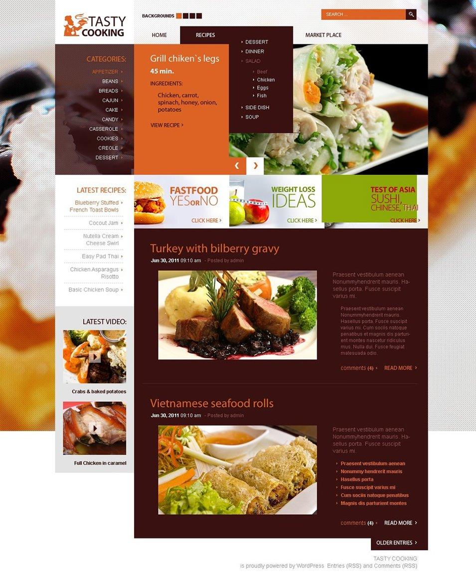 cooking wordpress theme5