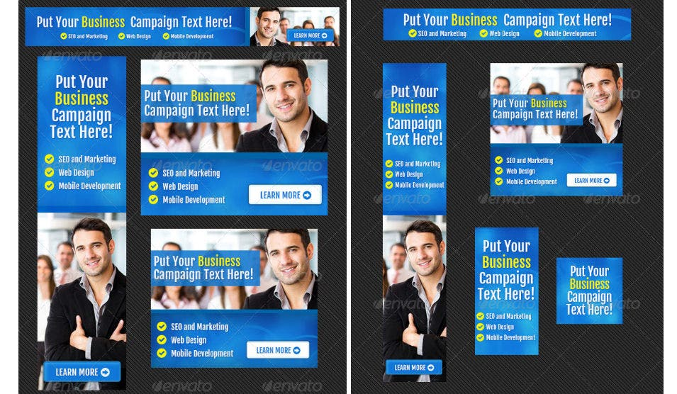 Corporate Web Banner Design Template1