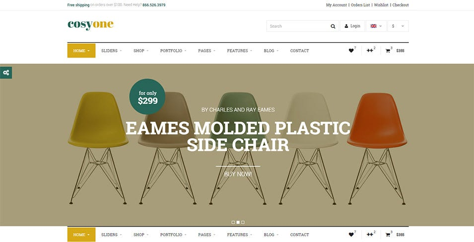 25+ Best Furniture Ecommerce Templates | Free & Premium Themes ...
