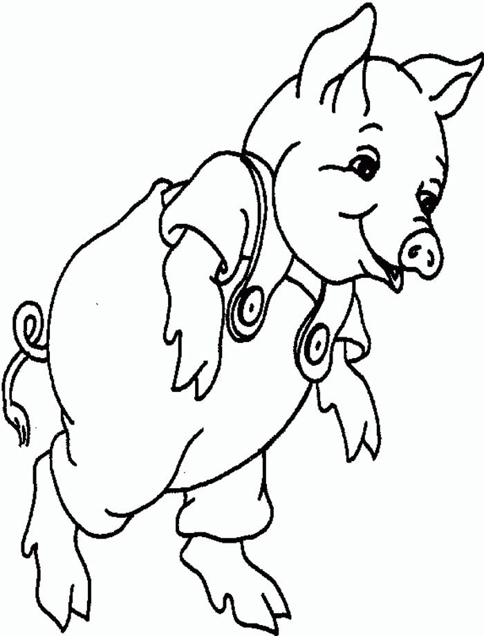 piglet coloring pages - photo#44