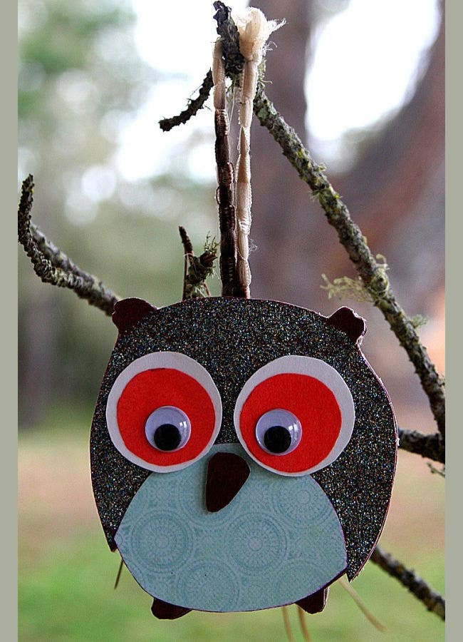 cute christmas owl crafts