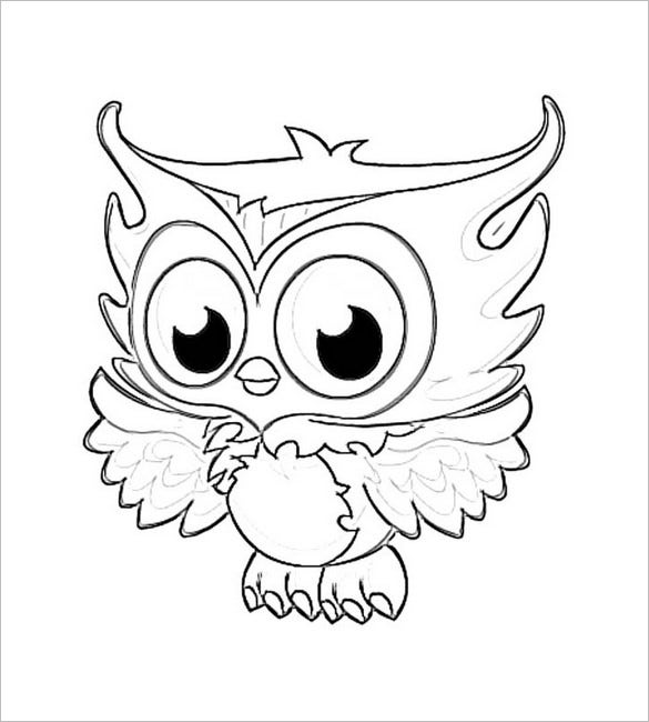 cute little owl template