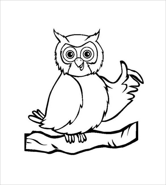 cute owl template1