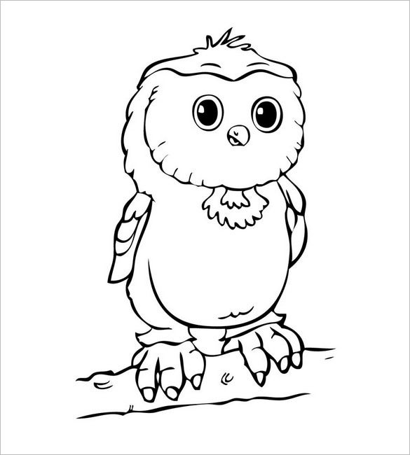 cute owl template
