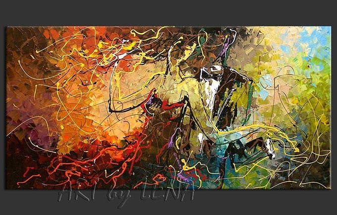 dancing queen figurative art
