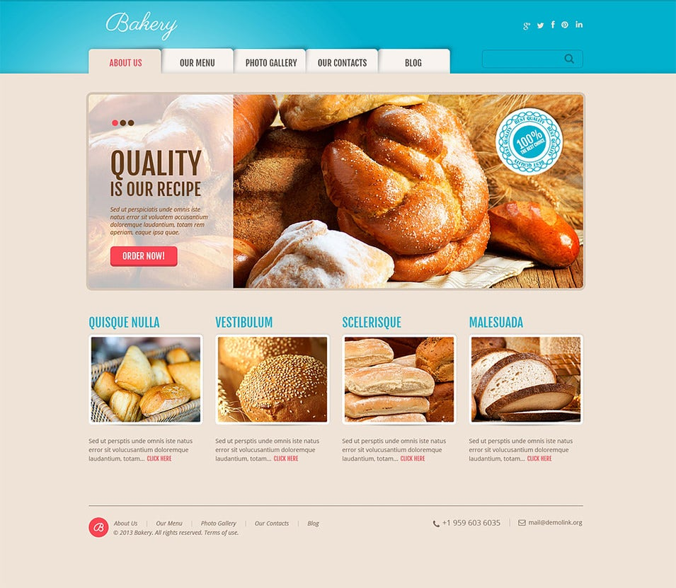 delicious bakery wordpress theme1