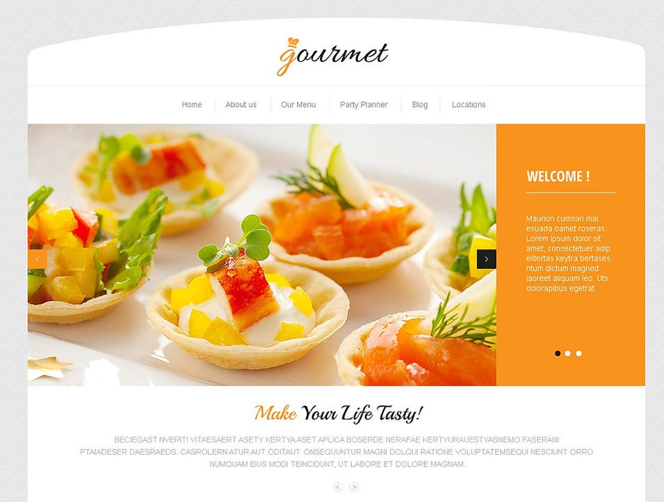 delicious cafe wordpress theme