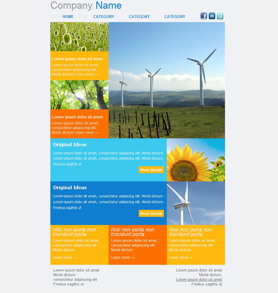 Newsletter Design Templates Free Download Akbaeenw