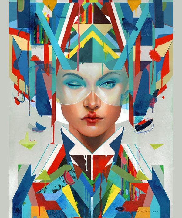 erik jones aesthetic painting