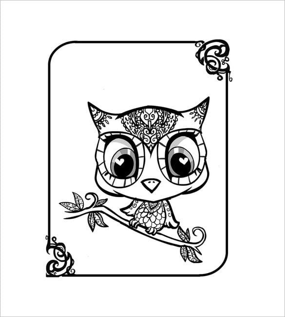 evil owl template0