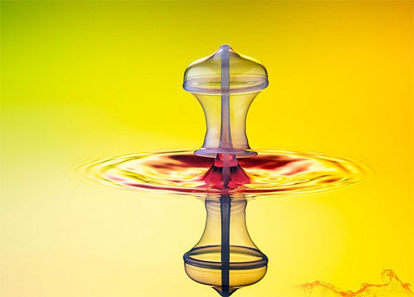 excellent water drop photography
