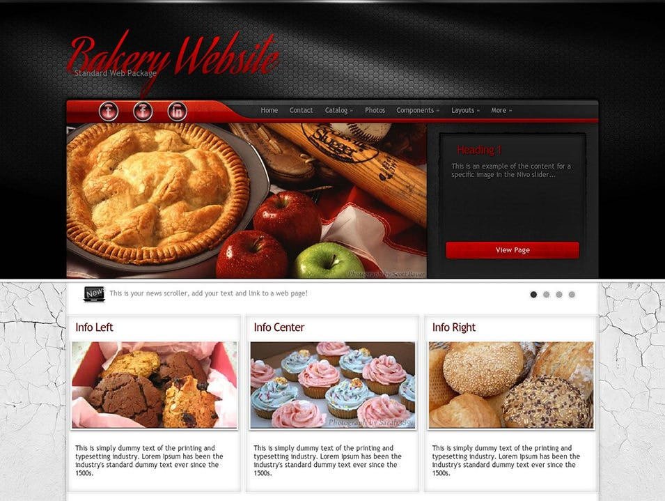 experience bakery wordpress theme