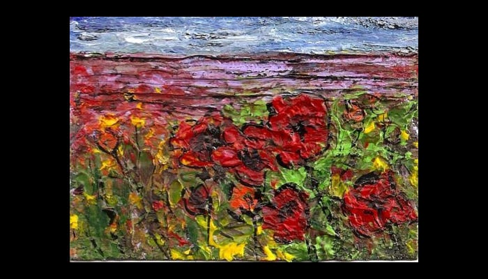 expressioistic painting impasto art