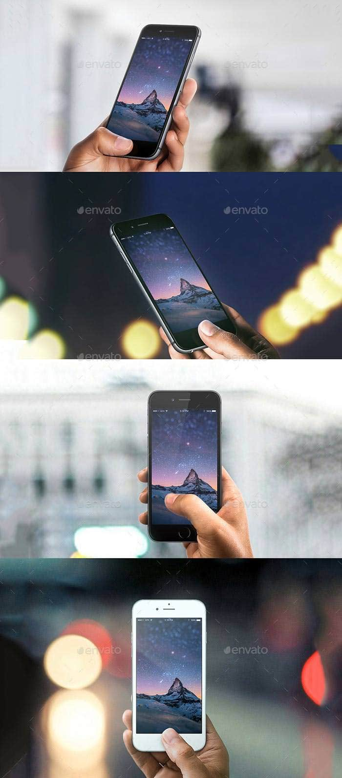 extraordinary phone 6 6plus 11 mockups