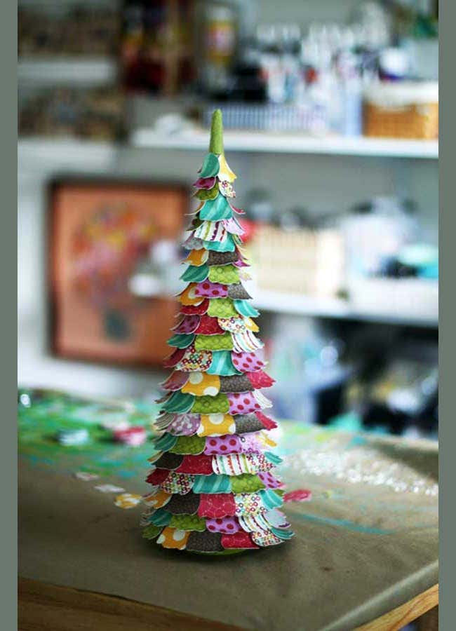 famous cp christmas tree craft