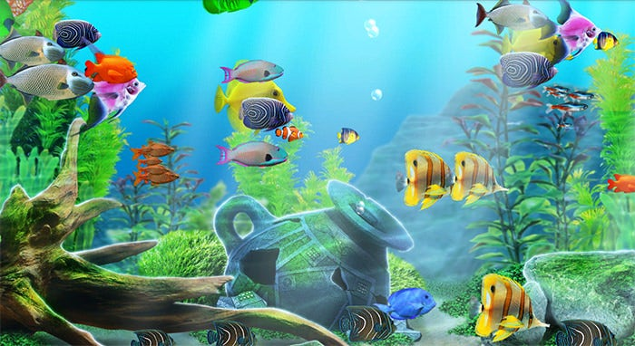 fantastic aquarium background