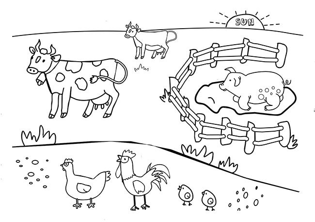 Farm Animal Template - Animal Templates | Free & Premium Templates