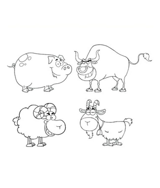 farm animal template 37