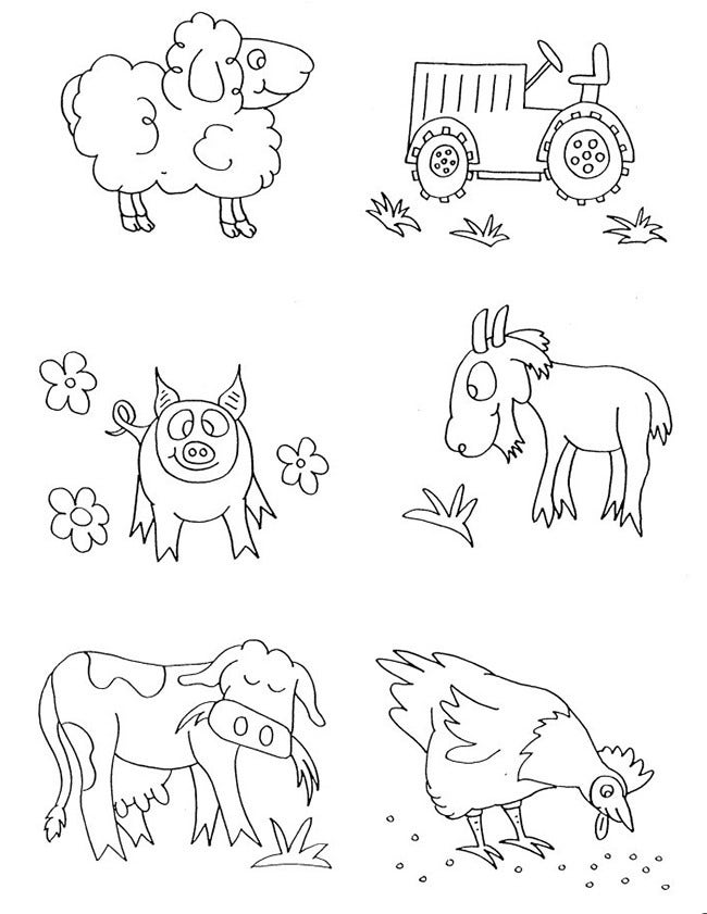 farm animal template 49