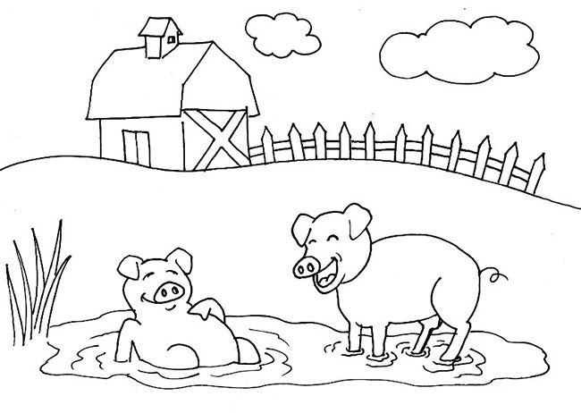 farm animal template 53