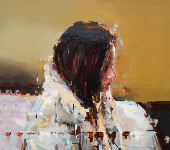 figurative art painting joshua bronaugh