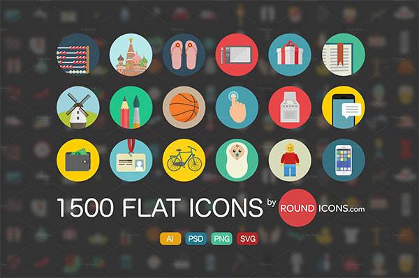 flat icons ai