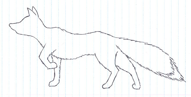 fox template 34