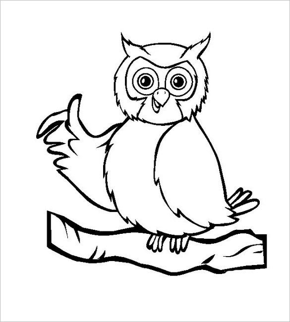 Owl Template - Animal Templates | Free & Premium Templates
