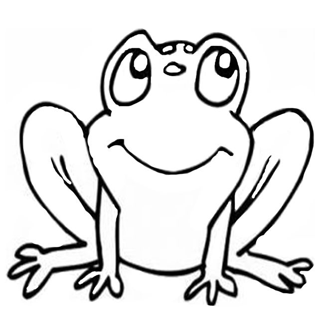 Frog Template - Animal Templates