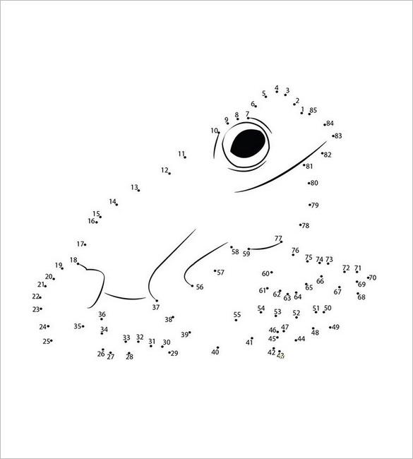 frog template dot to dot1