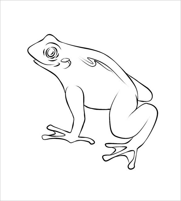 frog template