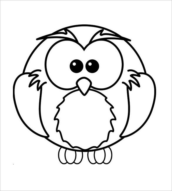 funny owl template1