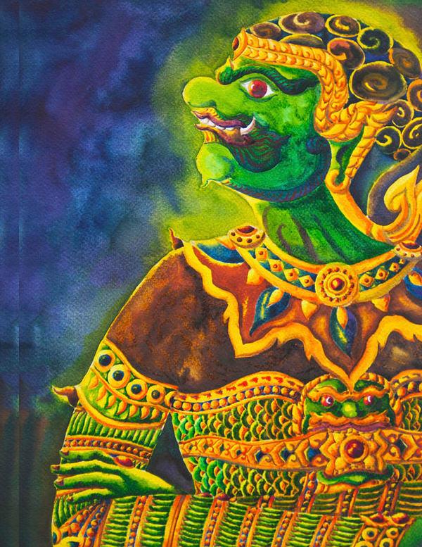 giant ramayana