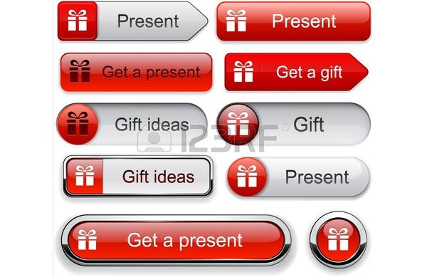 Gift web red buttons