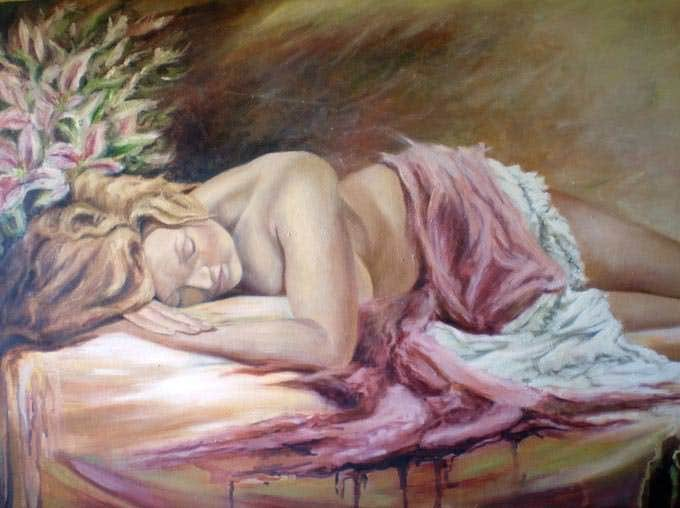 grace figurative art painting