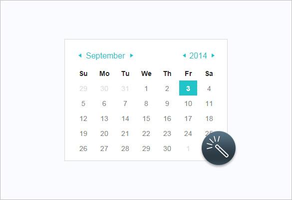 Как сделать календарь в html