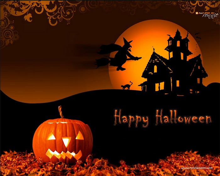 50 Best Halloween Backgrounds For Download