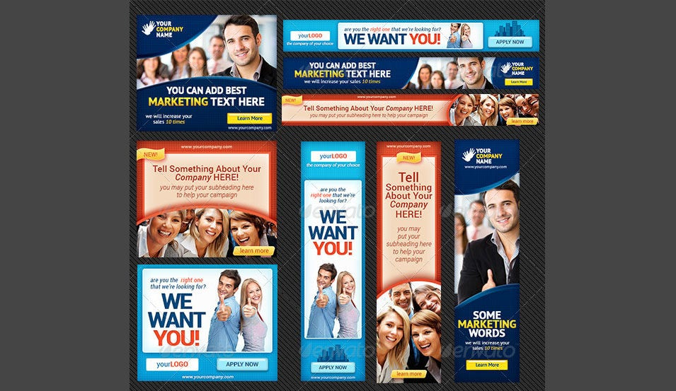 Corporate Banner Set Bundle