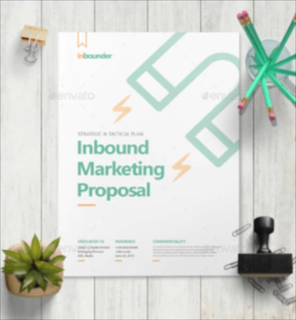 inbound marketing proposal template