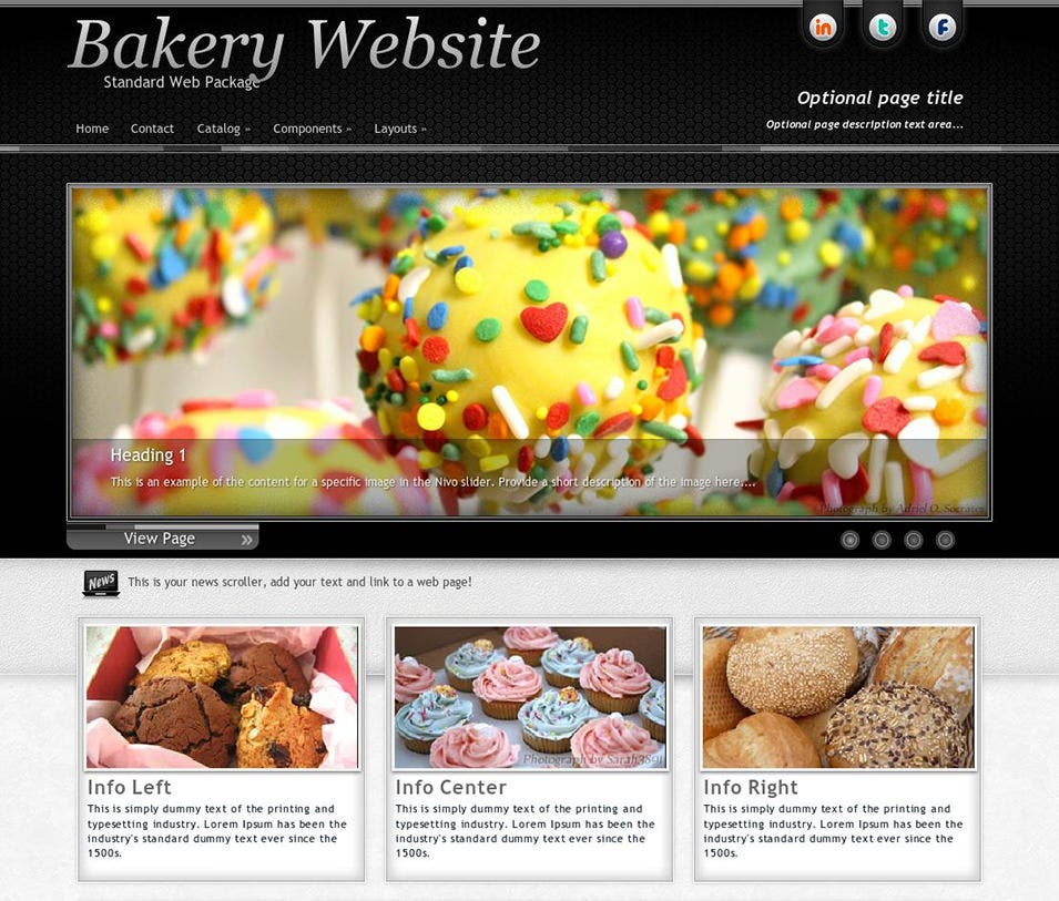 instinct bakery wordpress theme
