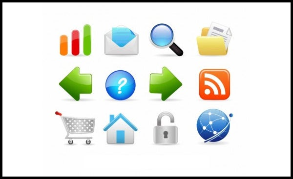 internet and website icons1