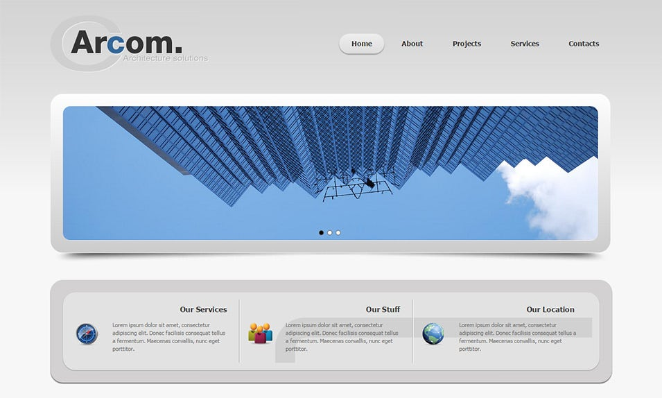 joomla 3 bootstrapped template 6