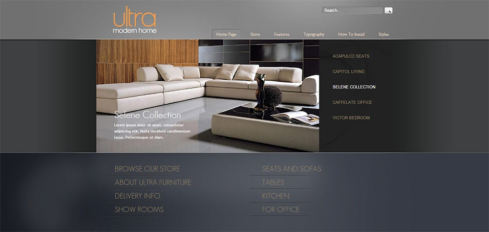 joomla furniture template
