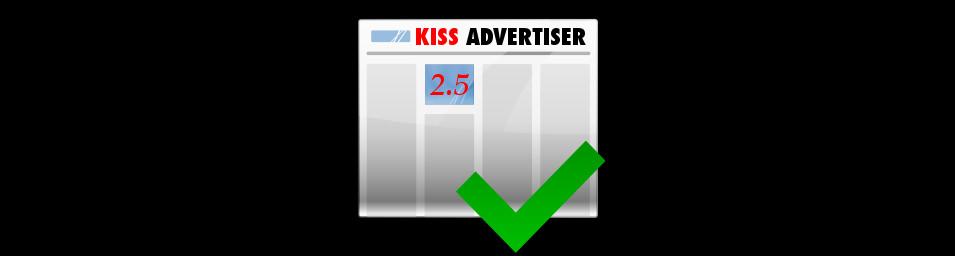 kiss advertiser v 2